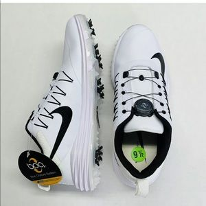 Nike Lunar Command 2 BOA White Black Mens Size 9.5